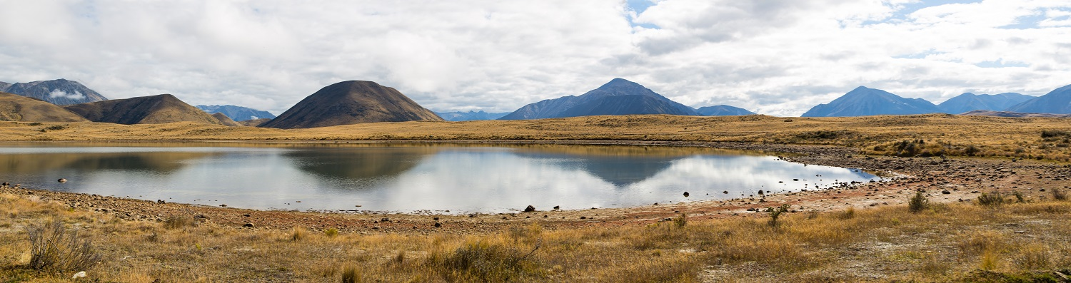 Alpine Lake for Trout Fishing NZ